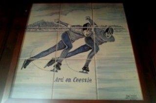 Ard en Ceessie schaatskampioenen
