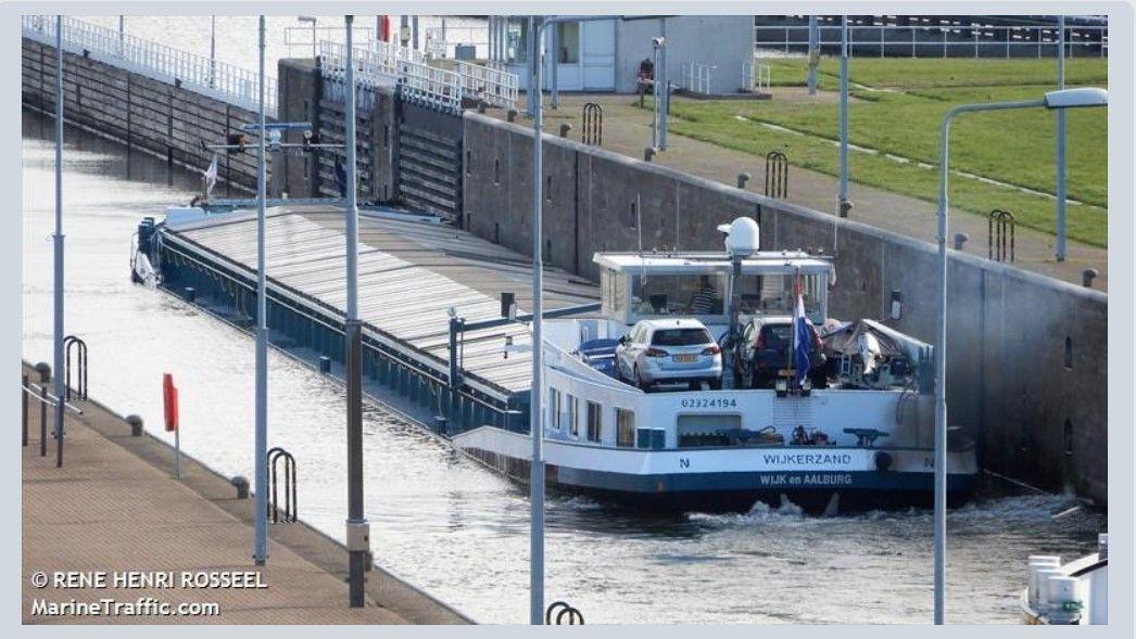 Afbeelding Binnenvaartschip de Wijkerzand