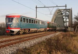 de Blauwe Engel is een diesel treinstel