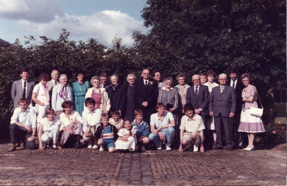 Familiefoto van Bergeijk