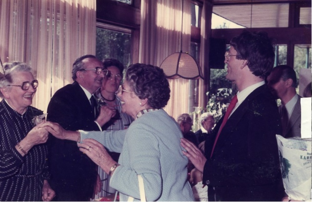 50 jarig huwelijksfeest oom Janus en tante Dits in Giesen