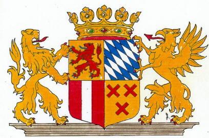 Afbeelding wapen Groote Waard in 1421