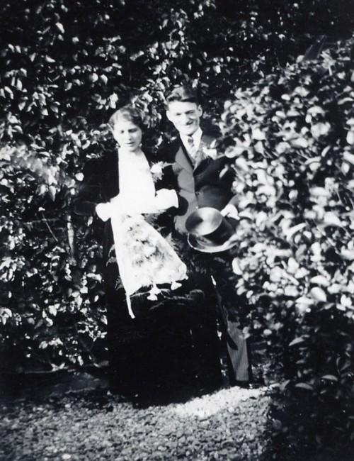 Trouwfoto Jan en Jo Oosterhoff