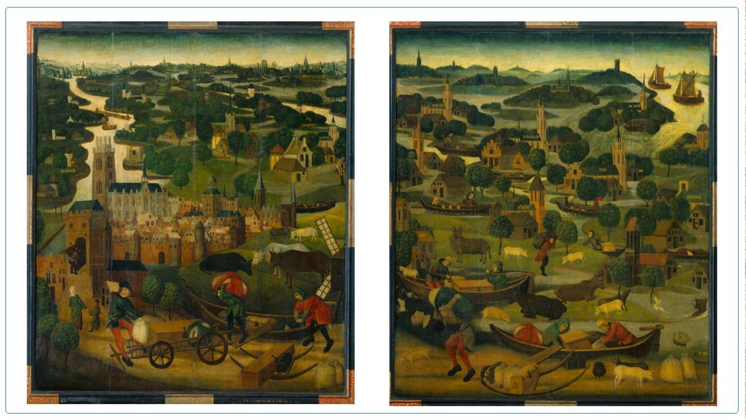 Afbeelding St.Elisabethvloed-panelen