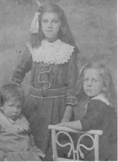 Familiefoto drie dochters