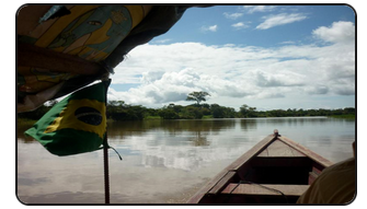Map Amazon river