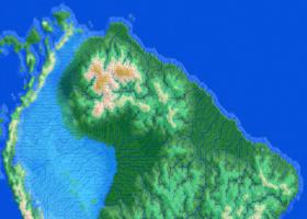Map Amazon Sea