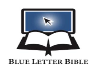 Blue Letter Bible logo