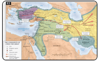 Cyrus The Great Chart