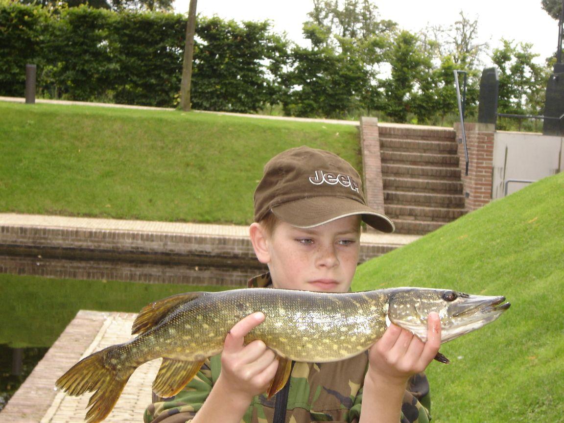 Willem caught a big pike