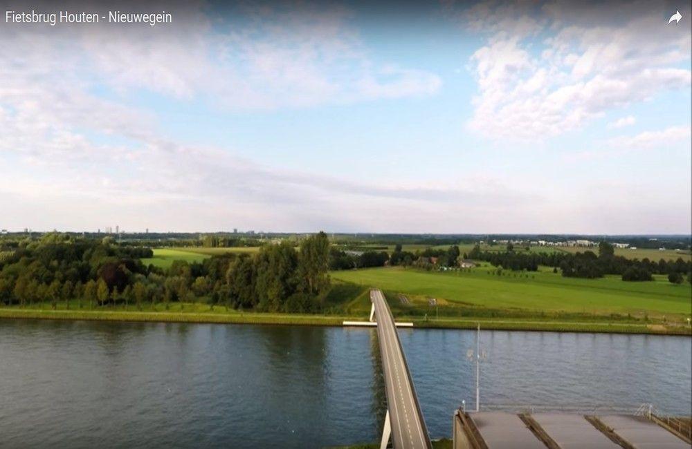 Fietsbrug Houten Nieuwegein