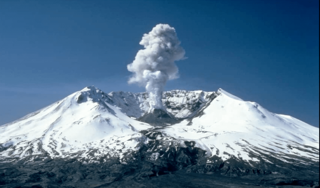 Web example Mount Saint Helens