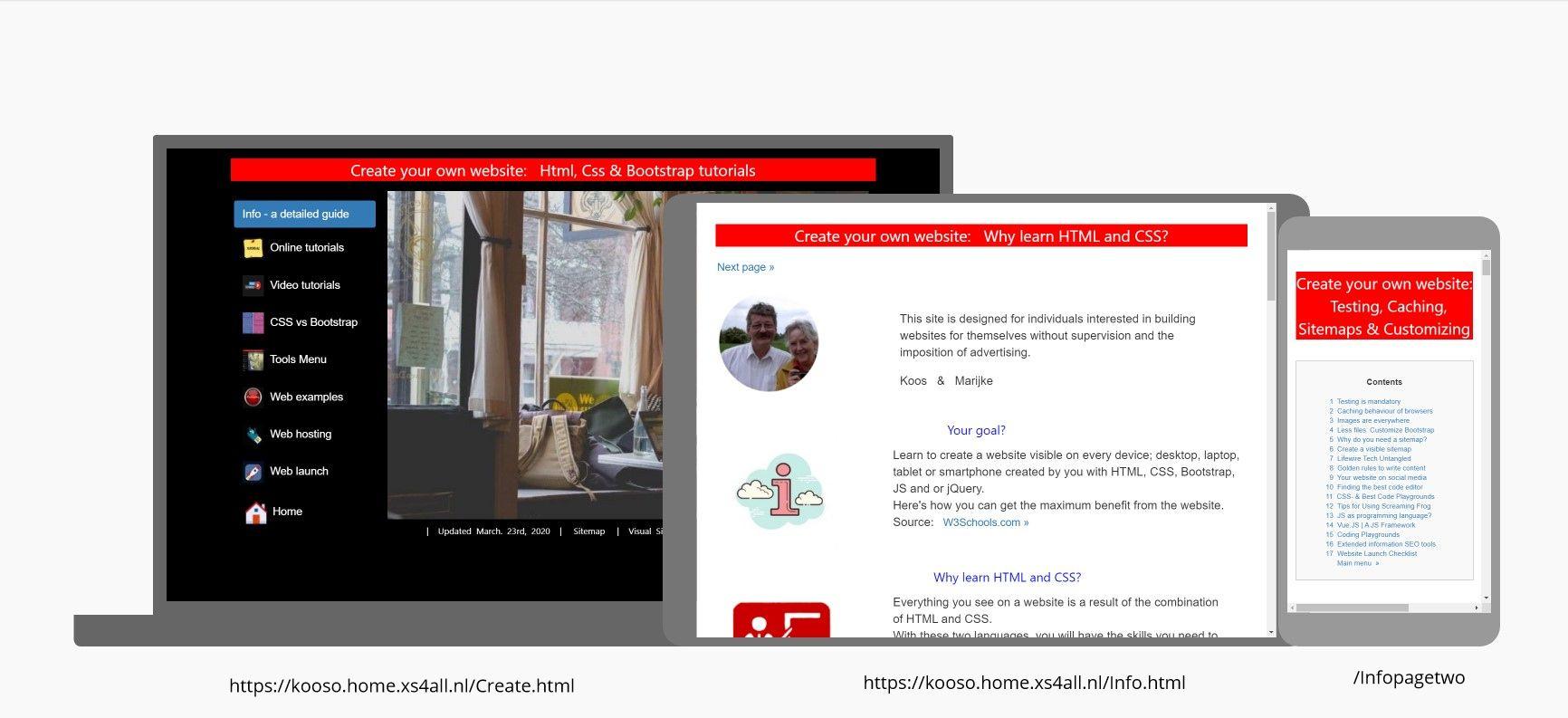 Create.html - Info.html-Infopagetwo