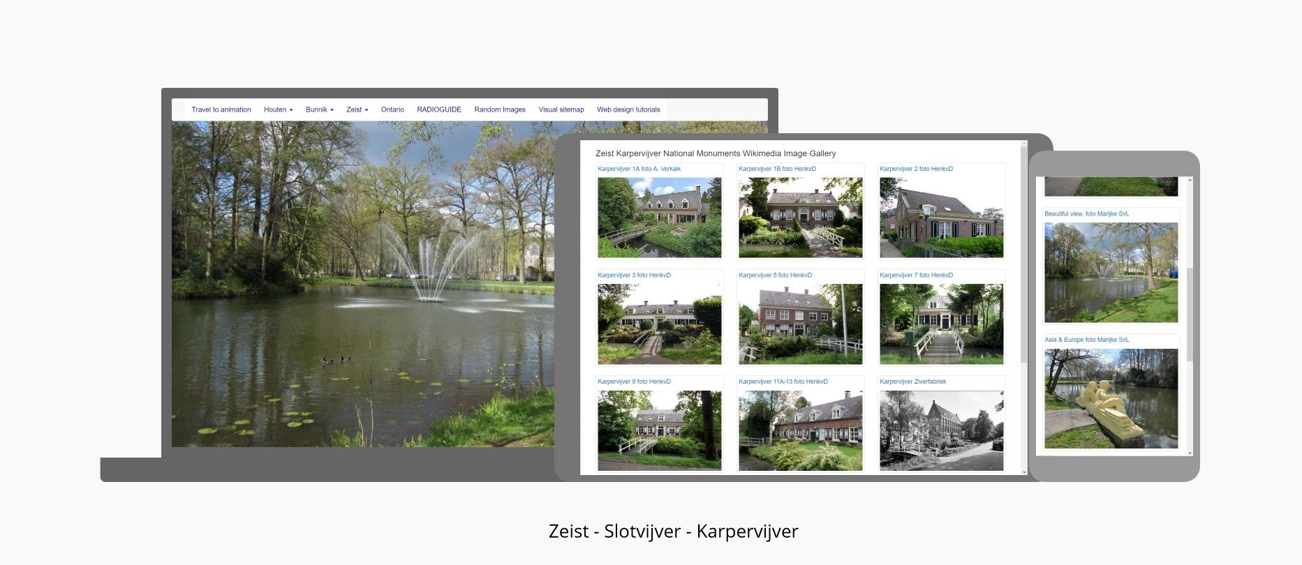 Slotvijver - Karpervijver - Asia and Europe