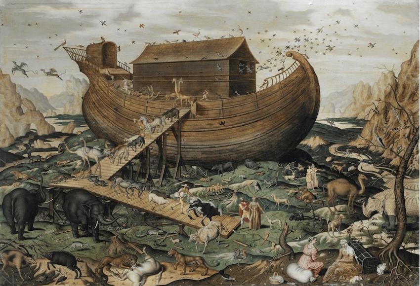 The arc and Noah's flood