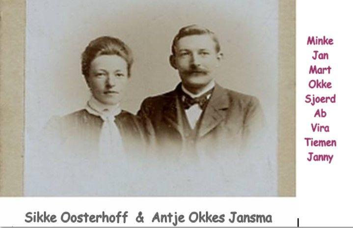 Opa en Oma Oosterhoff