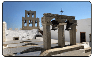 These bells mark the Monastery of St. John the Theologian in Patmos