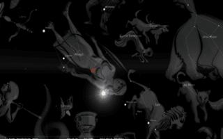 Stellarium Virgin constellation