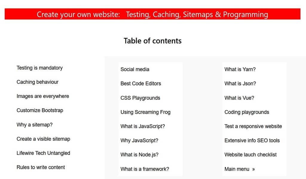 Expand yor knowledge of web developmennt